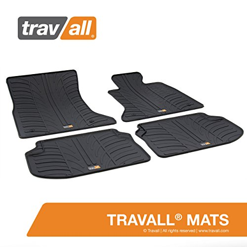 Travall TRM1025R Rubber Floor Car Mats