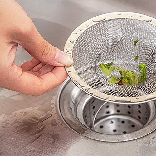 BIRD WORKS Abflussstopfen für Küche, Badezimmer, Edelstahl, 4 Größen (M L XL), 71 mm