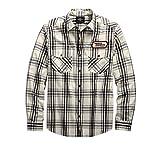 HARLEY-DAVIDSON Men's H-D Racing Long Sleeve Plaid Shirt - 99162-19VM