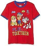Pat' Patrouille 6931 T-Shirt, Rouge, (Taille Fabricant:8 Ans) Garçon