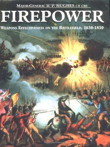 Firepower: Weapons Effectiveness On The Battlefield, 1630- 1750 by B.p. Hughes (1997-03-21)