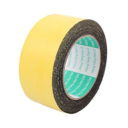 Aexit 50mm x Band 1mm Einseitig selbstklebend Stoßfest Schwamm Schaum Klebeband Abdeckband 5M Länge