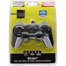 Speedlink Strike² Gamepad für Playstation 2 (Vibration) schwarz