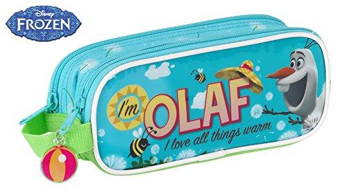 Frozen – Portatodo Doble, diseño Olaf, 21 x 8 x 6 cm (SAFTA 811514513)