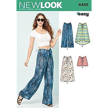 New Look Damen Schnittmuster 6289 Shorts und Hosen: Amazon.de: Küche ...