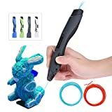 KKmoon SL-300 3D Stylo Imprimante Pen Intelligent +Pen Holder+2 Sacs 1.75mm ABS PLA Filament 3m