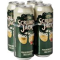 Scrumpy Jack Original Cider Can, 4 x 500ml