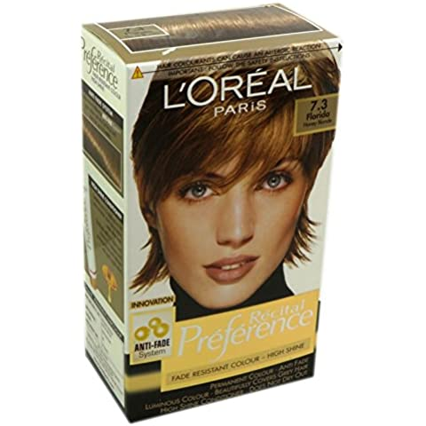 L'Oreal Paris Recital Preference colorazione capelli biondo miele 7.3 Florida