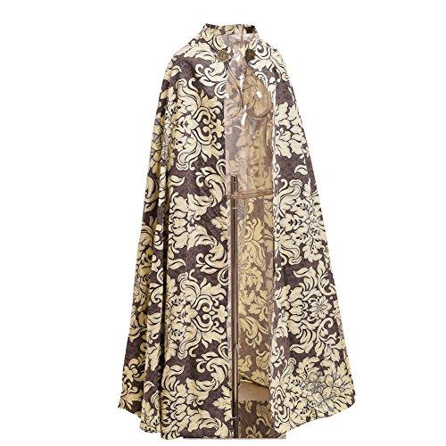 BLESSUME Mittelalter Reenactments Renaissance Messen Umhang Kostüm Cape Royal Style Vintage Unisez