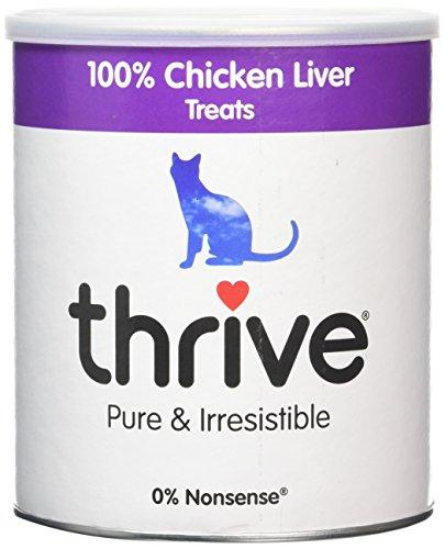 Thrive Aperitivos de Higado de Pollo para Gatos - 135 gr