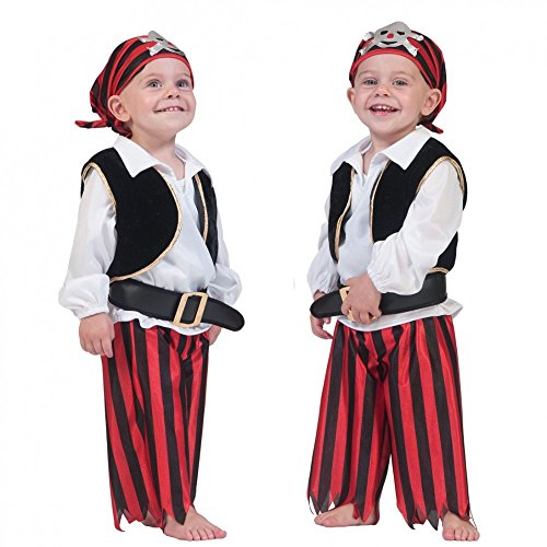 by Pirat Flo Babykostüm Größe 98 ()