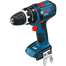 Bosch GSB 18-V-LI - Taladro (Ión de litio, 18V, 45 min, 18.9 cm, 24.6 cm, 1.9 kg), color negro y azul