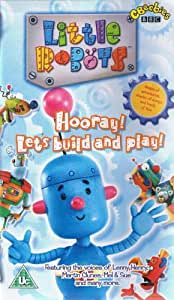 Little Robots:Hooray! Let's build and Play!