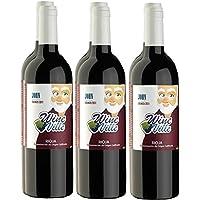 Caja de Vino Tinto Crianza Rioja 2011, John de Wine Ville. (6 Botellas