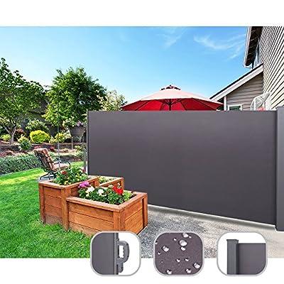 CCLIFE Seitenmarkise Ausziehbar Sichtschutz Windschutz Sonnenschutz - Diverse Farben und Größen von CCLIFE auf Gartenmöbel von Du und Dein Garten