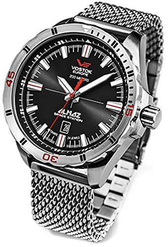 Montre Vostok Europe Almaz Space homme NH35A-320A258-BR