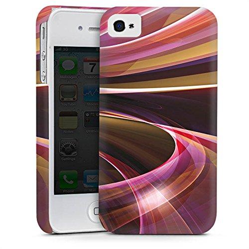Apple iPhone 5 Housse Étui Protection Coque Tourbillon Strudel Motif Cas Premium mat