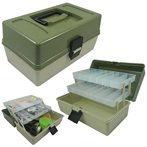 Carp-Corner - Caja de pesca (2 bandejas)