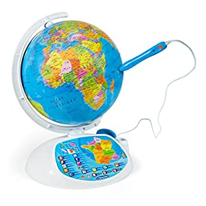 Clementoni – Educational 52202-exploraglobe 2016 – The World interactif-jeu