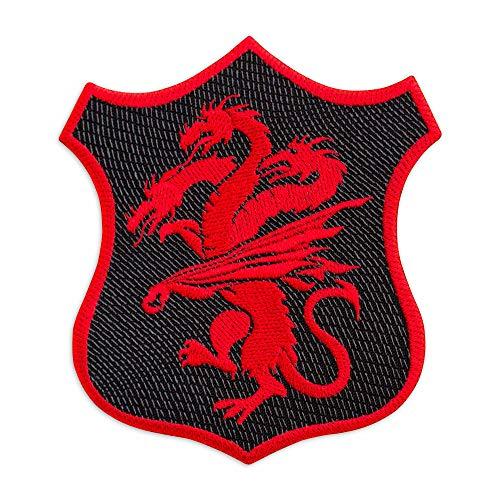 Parche bordado escudo Targaryen Juego Tronos 8,9 x