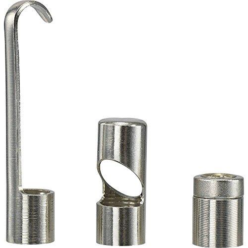 VOLTCRAFT Reckhorn 55/59mm Zubehör für Endoskop A Spiegel Magnet und Haken geeignet für BS-55mm/1m BS