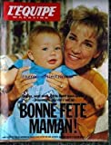 EQUIPE MAGAZINE (L') [No 542] du 30/05/1992 - CHRIS EVERT - MAMAN.