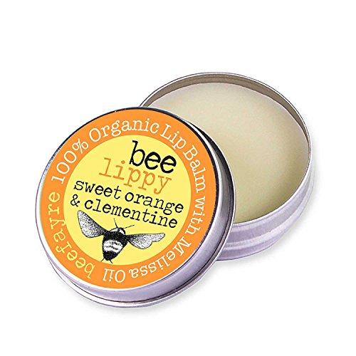 Mandarin Lippenbalsam (Lippenbalsam (LIP BALM) ORANGE & MANDARINE (SWEET ORANGE & MANDARIN) auf natürlicher Basis 10ml mit Melissenöl zur Bekämpfung von Lippenherpes)