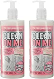 Soap And Glory Clean On Me Creamy Clarifying Shower Gel 500ml (Pack Qty 2)