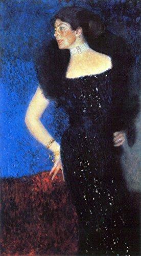 Das Museum Outlet–Portrait Of Rose Von Klimt rosthorn-friedmann, gespannte Leinwand Galerie verpackt. 29,7x 41,9cm