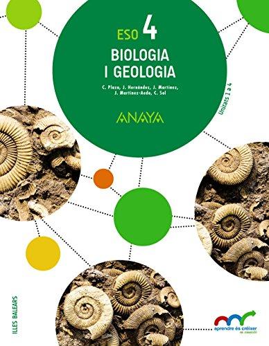Biologia i Geologia 4. (Aprendre és créixer en connexió) - 9788469812402