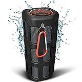 TREBLAB FX100 Haut-Parleur Bluetooth, Enceinte sans Fil Portable, 7000mAh Intégré Power Bank, Micro, Définition Stéréo, Speaker, Étanche IPX4