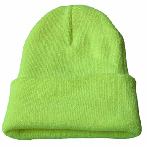 Zottom Unisex Slouchy Strickmütze Hip Hop Cap Warme Winter-Ski-Mütze -