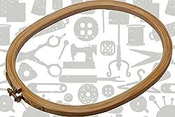 Wooden Hoop - Oval - 10