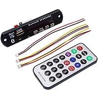 USB inalámbrico Bluetooth Reproductor MP3 decodificador módulo del tablero de audio TF Red Radio Digital LED del mando a distancia Regard