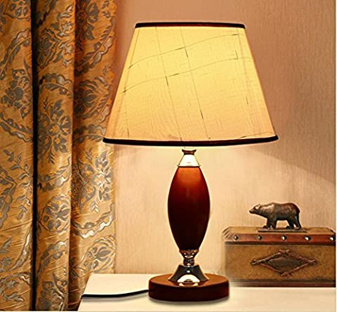Portable Table Lamp - Vintage Edition - Elegantly Decorative Wooden