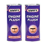 2x Wynns Engine Flush 425ml