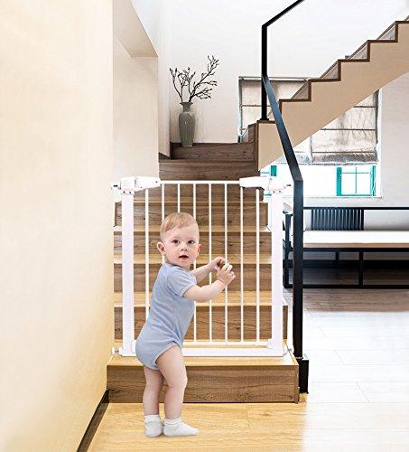 138 Rod (Kleinkinder Und Kinder Sicherheit Tor Baby Treppe Zaun Pet Zaun Hund Zaun Rod Isolation Tür (größe : 137-143cm))