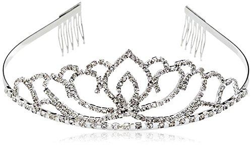 Hochzeit Diadem Brautbrautjungfern Strass Kronen Stirnband Tiara Schließe Haarspange pin