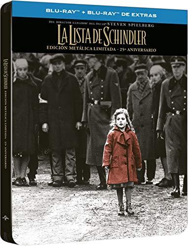 Schindlers Liste - Limited Steelbook (Import inkl. deutschem Ton)