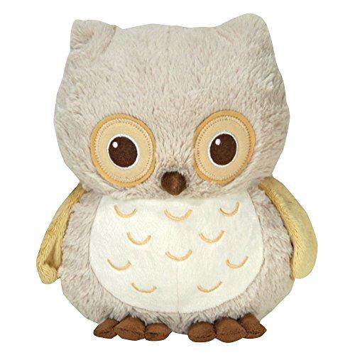 Cloud b Sunshine Owl Natural - Einschlafhilfe Eule - Kuscheltier mit Sound Sunshine Eule