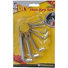 10-Set di chiavi esagonali da pescatore - 2 Tamper Resistant Torx Bit