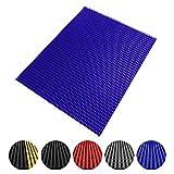 Antirutschmatte Multi-Grip | Industriematte für trockene & nasse Arbeitsbereiche | ölresistent & antibakteriell | viele Farben und Größen (blau, 60x200cm)