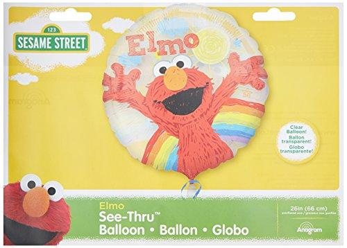 Anagram International Elmo siehe durch Pack, ()
