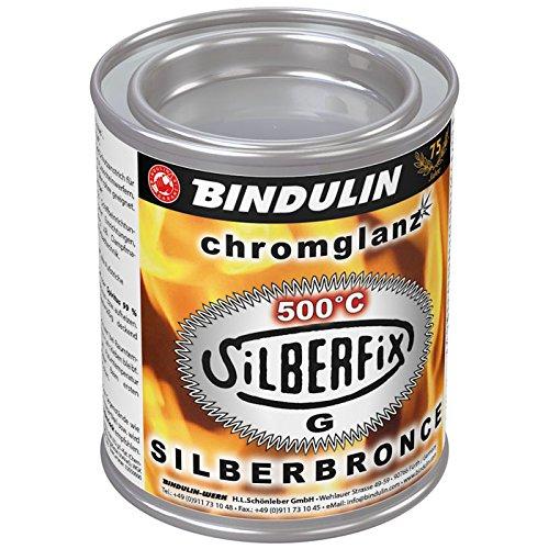 "Bindulin SG125 Aluminium Dauerfarbe""Silberfix-G Silberbronze"" 125ml"