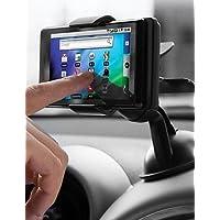 K-NVFA ziqiao universal de la rotación de 360 ??grados coche sostenedor del montaje para Samsung / HTC / iphone / gps KK-V- 6342