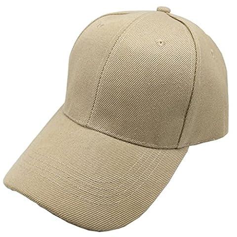 Classic fest-Farbe Frauen Männer Sun hat Arbeit Cap Advertising Cap/Baseball