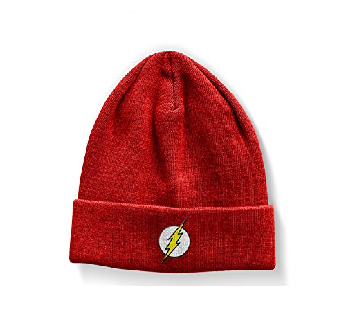 Officially Licensed Merchandise The Flash Logo Beanie (Hoodie Kid Flash)