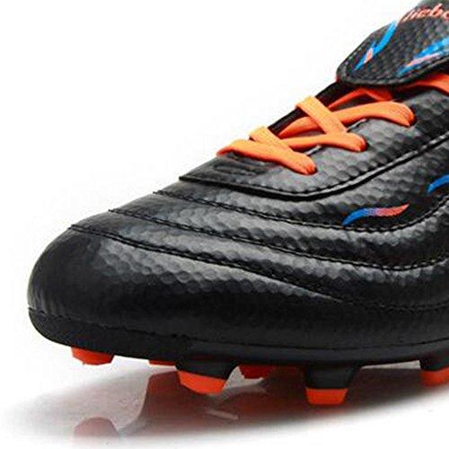 Mr. LQ - Scarpe formazione degli adulti di calcio giovanile Black
