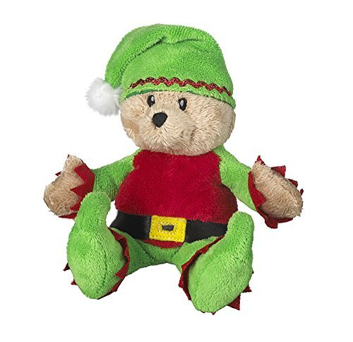 Wee Bears Costumed Teddy Bear: Santa's Elf - By Ganz by Ganz - Ganz Wee Bear