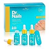 Belle Azul Dr. Nails KIT 3 BEQUEMLICHKEIT effektive Pflege bei Nagelproblemen Mit Arganöl, Teebaumöl und Nelkenöl für gestärkte und gesund aussehende Nägel. 10ml